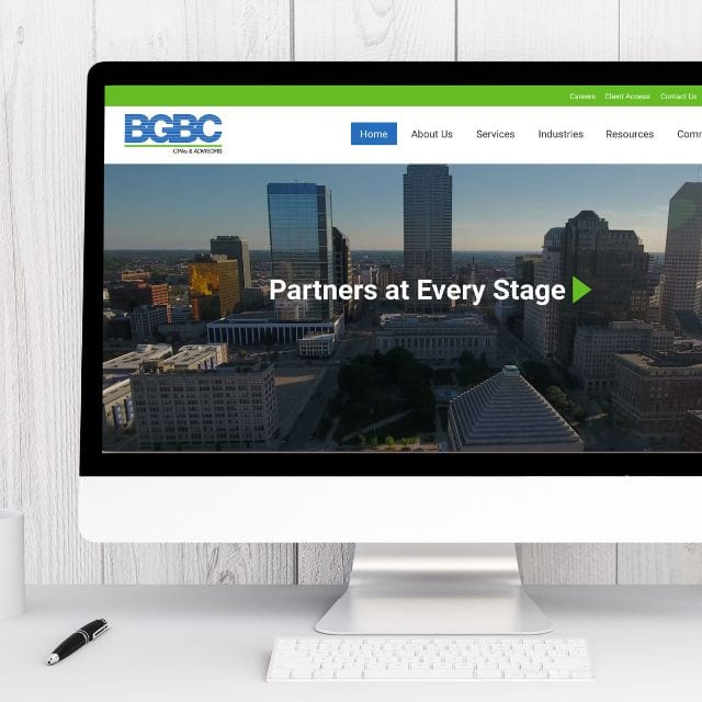 Coles Marketing Featured Work - BGBC Website