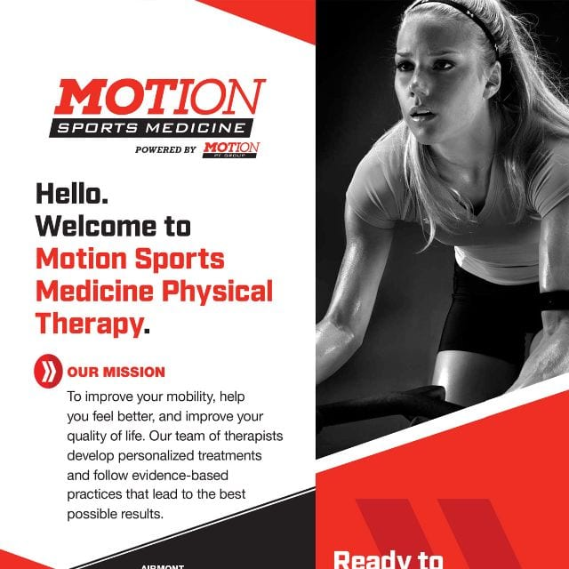 Coles Marketing Flyer Work - Motion PT